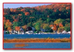 Fish Creek Harbor - Fall View