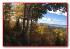 Fish Creek Fall View 2016